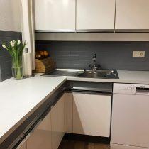 Küchenrückwand nachher